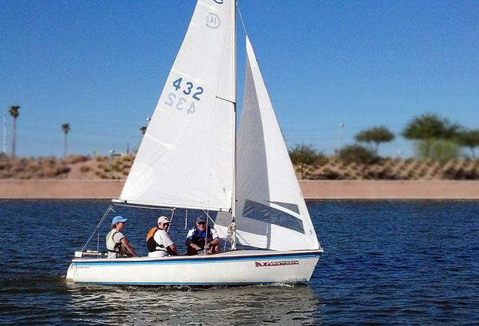 Adult Beginning Sailing - Arizona Yacht Club