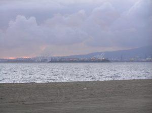 Stormy Long Beach Turkey Regatta 2010