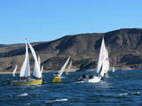 Heavy wind capped the 2013 Birthday Regatta.
