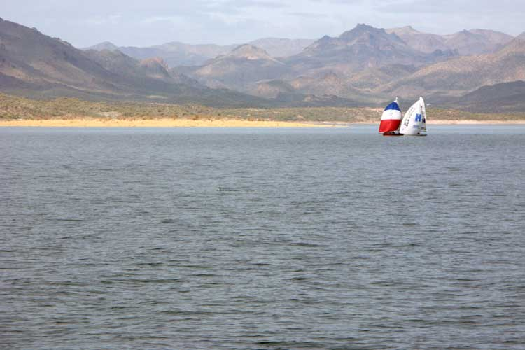 Lake Pleasant Vista. Photo: Mike Ferring