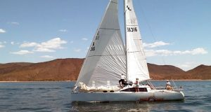 Tall Cactus brought out Scott McClintock and the Rio Hondo 40 with Emory Heisler at the helm. Photo: Mike Parker