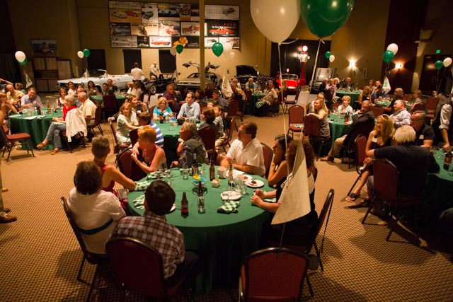 The party drew 95 to socialize and commemorate the accomplishments of the year.