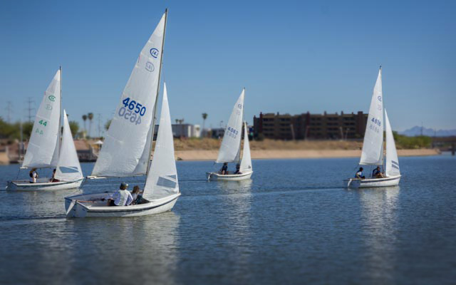 Light wind marked the 2013 edition of the Ruth Beals Cup. Last year, wind was 20+. Go figure.