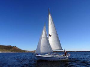 DreamCatcher against the blue Arizona sky. Photo: Janet Cohen