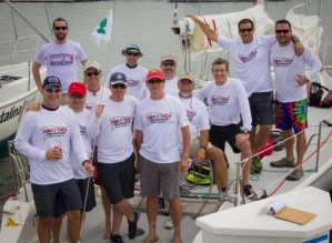 The dozen members of the Crazy Train pick-up team organized by John Riddell.