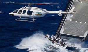 Sharon Green in pursuit of another ultimate sailing picture.