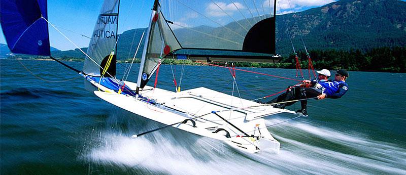 Sailing on the edge.