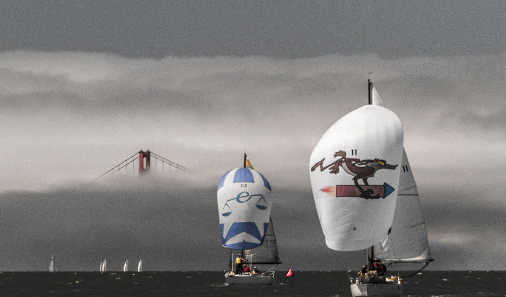 One of Daniel's sailing images, from San Francisco Bay.