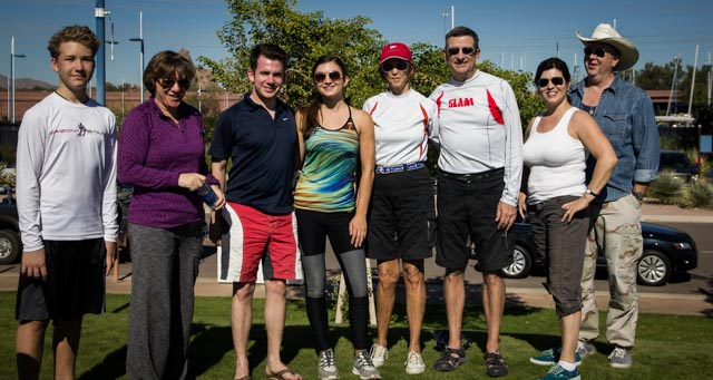 Captains and crew: Wilson Davis, Cindy Pillote, Chad Hargrove, Kylie Jenkins, Maryellen Ferring, Mike Ferring, Suzette Bush, John Bush