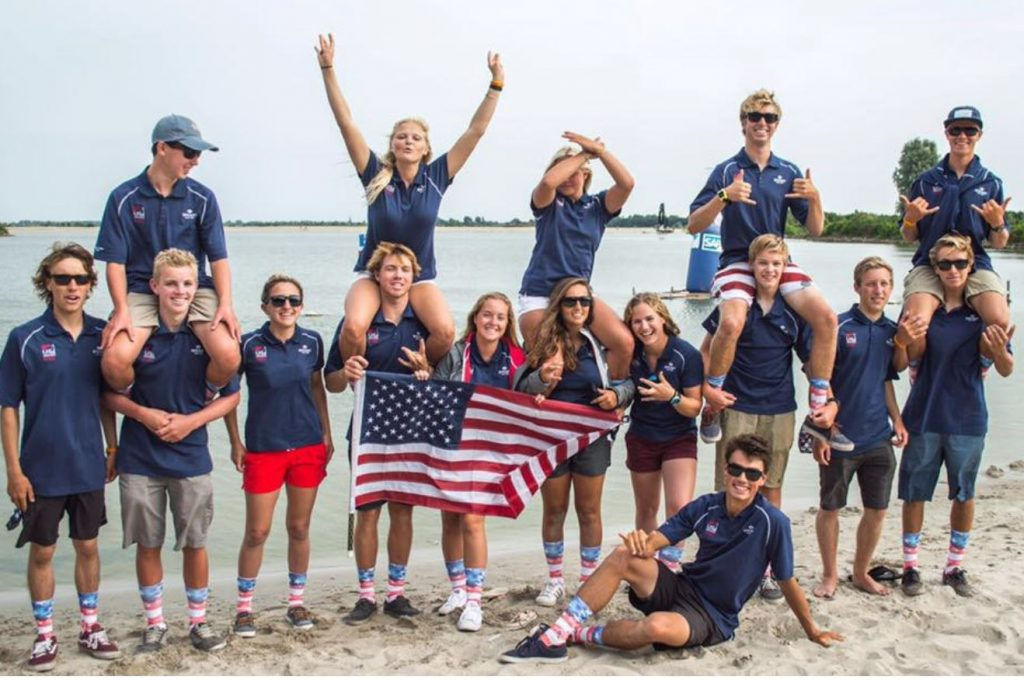The US Olympic sailing team.