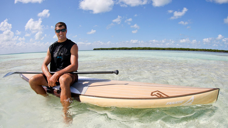 Pro Paddle Boarder Chase Kosterlitz.