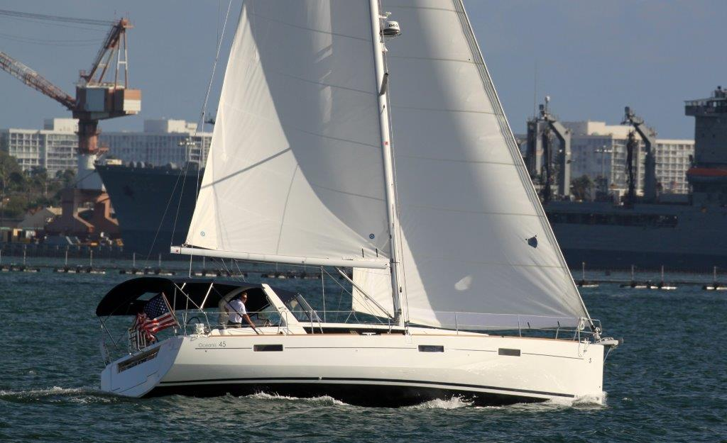 Harbor Sailboats can put you on the water in San Diego.