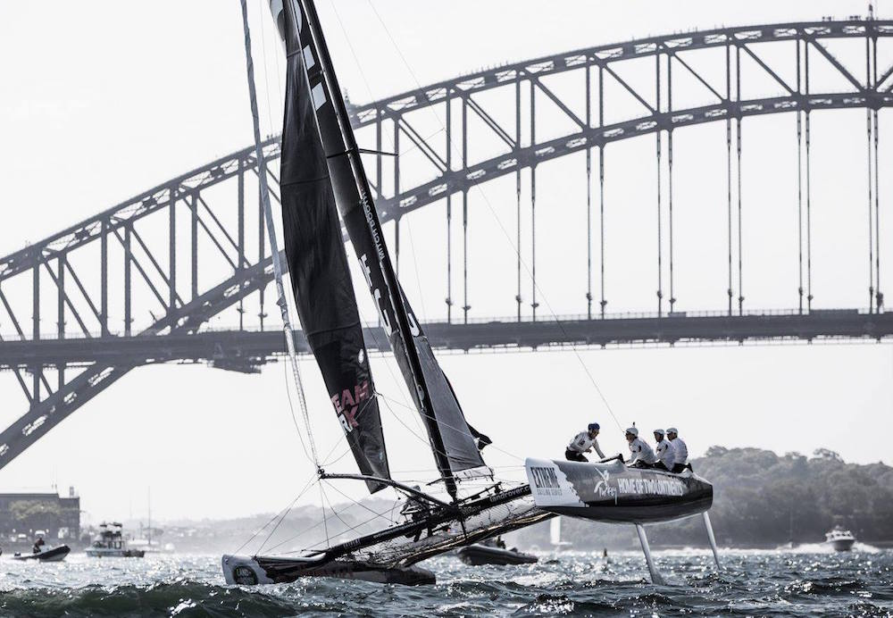 Extreme Series at the last stop of 2016, Sydney harbor.