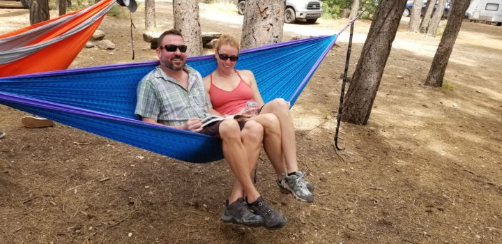 Happy Hammock Couple